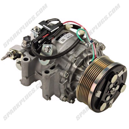 Picture of Denso 471-7054 New A/C Compressor with Clutch