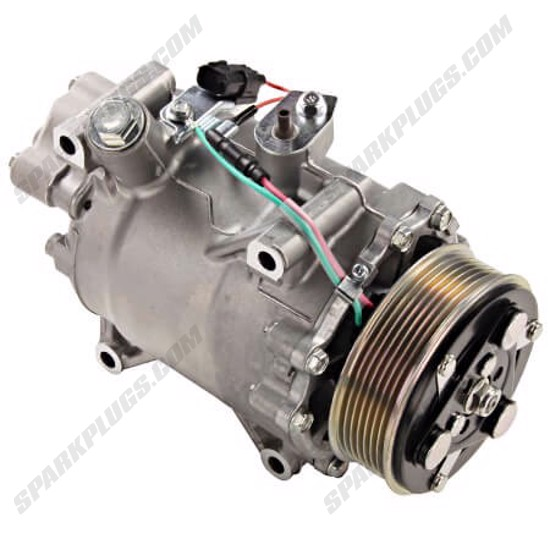 Picture of Denso 471-7056 New A/C Compressor with Clutch