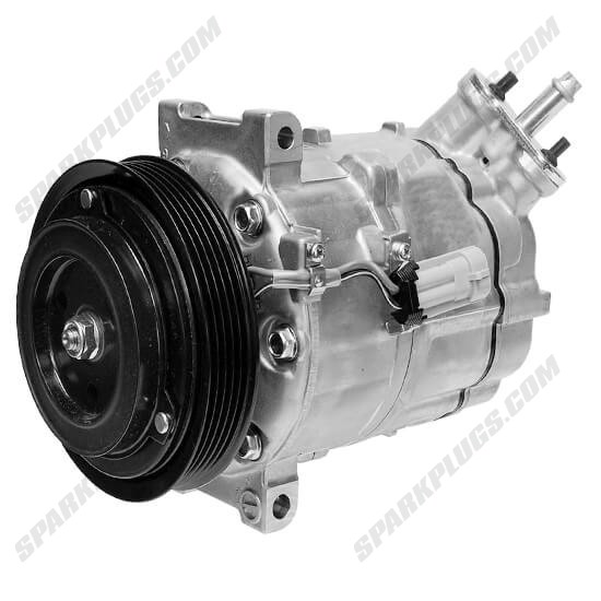Picture of Denso 471-7057 New A/C Compressor with Clutch