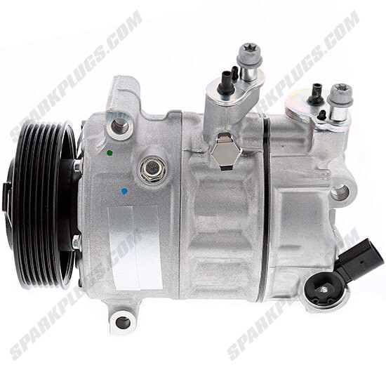 Picture of Denso 471-7060 New A/C Compressor with Clutch