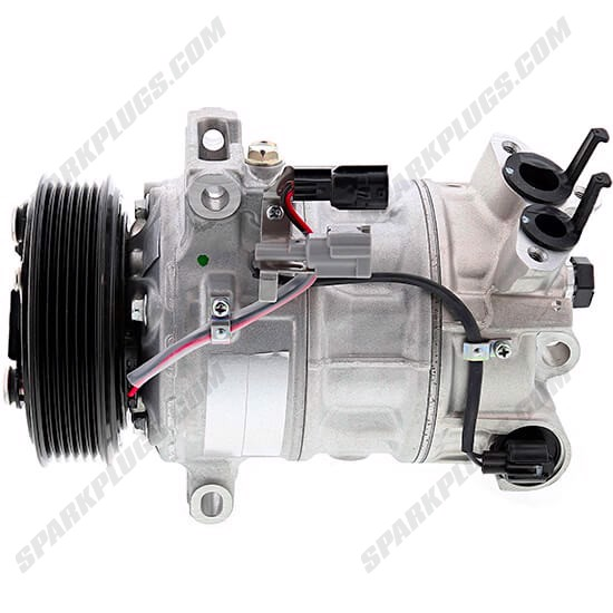 Picture of Denso 471-7063 New A/C Compressor with Clutch