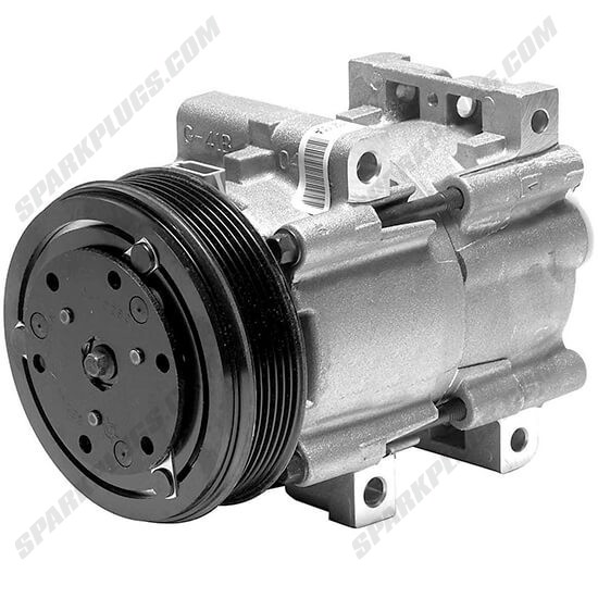 Picture of Denso 471-8100 New A/C Compressor with Clutch