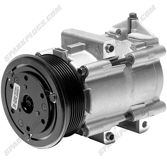 Picture of Denso 471-8102 New A/C Compressor with Clutch