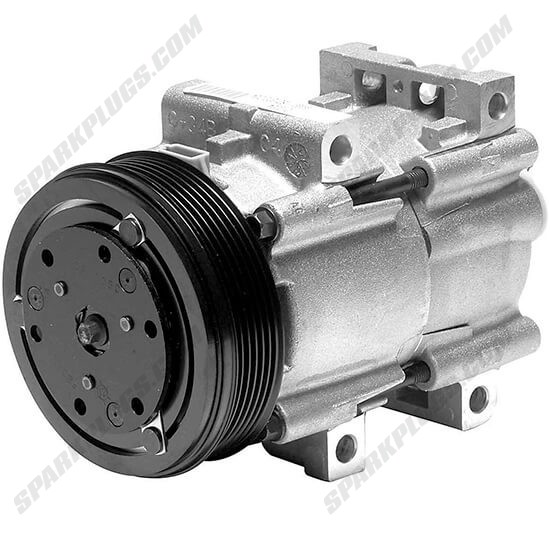 Picture of Denso 471-8103 New A/C Compressor with Clutch