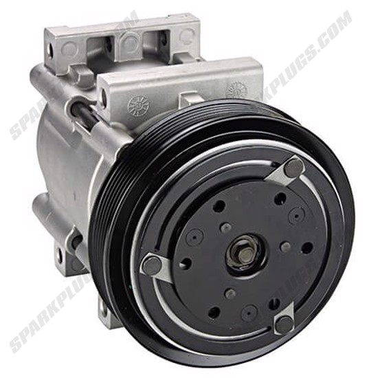 Picture of Denso 471-8105 New A/C Compressor with Clutch