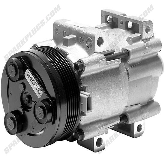 Picture of Denso 471-8107 New A/C Compressor with Clutch