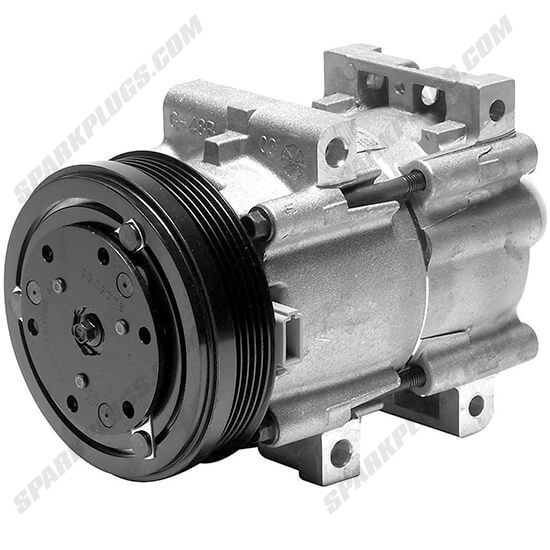 Picture of Denso 471-8108 New A/C Compressor with Clutch