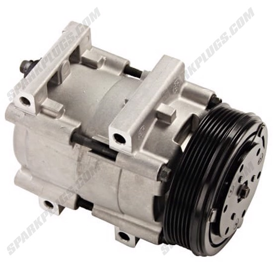 Picture of Denso 471-8109 New A/C Compressor with Clutch