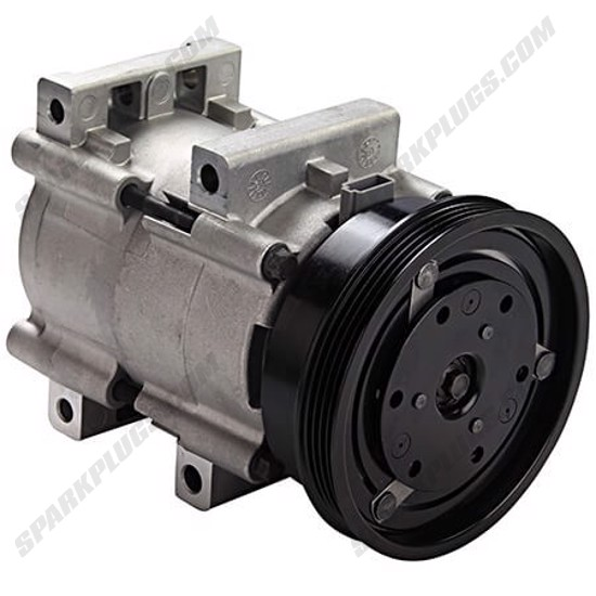 Picture of Denso 471-8111 New A/C Compressor with Clutch