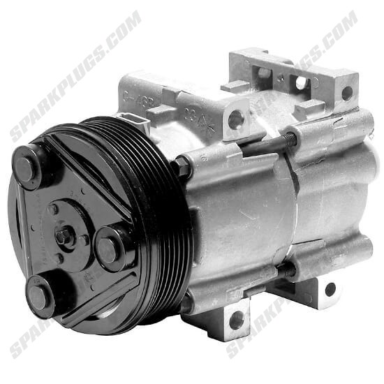 Picture of Denso 471-8112 New A/C Compressor with Clutch