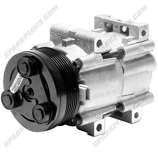Picture of Denso 471-8116 New A/C Compressor with Clutch