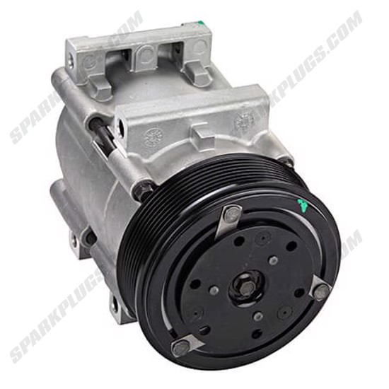 Picture of Denso 471-8119 New A/C Compressor with Clutch