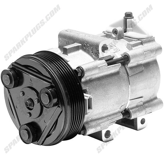 Picture of Denso 471-8120 New A/C Compressor with Clutch
