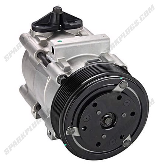 Picture of Denso 471-8121 New A/C Compressor with Clutch