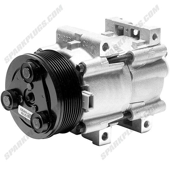 Picture of Denso 471-8122 New A/C Compressor with Clutch