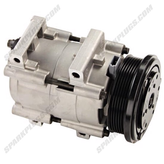 Picture of Denso 471-8127 New A/C Compressor with Clutch