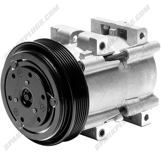 Picture of Denso 471-8130 New A/C Compressor with Clutch
