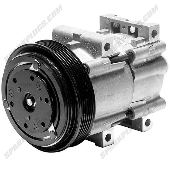 Picture of Denso 471-8131 New A/C Compressor with Clutch