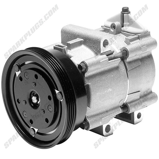 Picture of Denso 471-8132 New A/C Compressor with Clutch