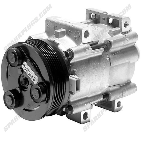 Picture of Denso 471-8139 New A/C Compressor with Clutch