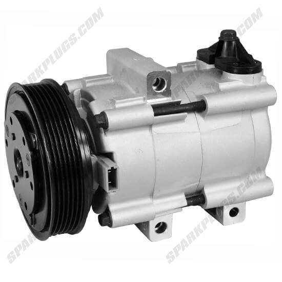Picture of Denso 471-8155 New A/C Compressor with Clutch