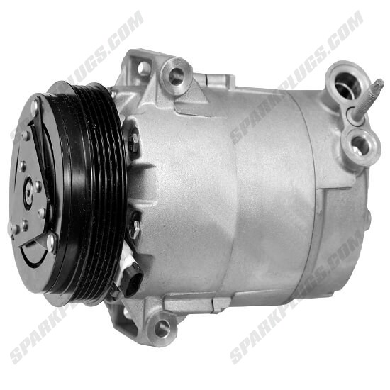 Picture of Denso 471-9008 New A/C Compressor with Clutch