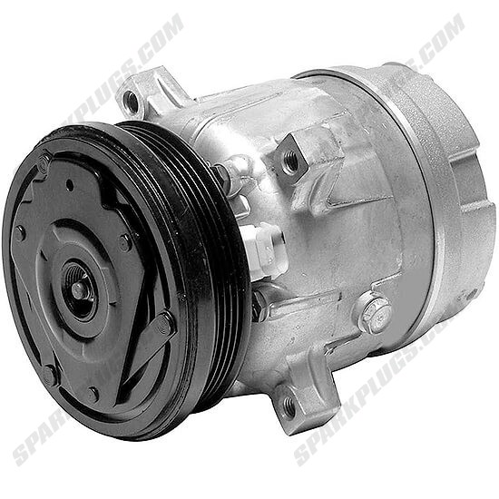 Picture of Denso 471-9130 New A/C Compressor with Clutch