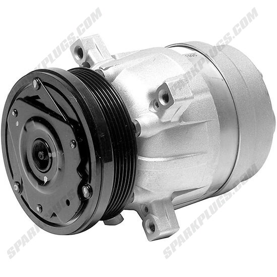 Picture of Denso 471-9132 New A/C Compressor with Clutch