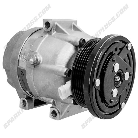 Picture of Denso 471-9135 New A/C Compressor with Clutch