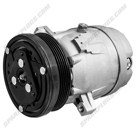Picture of Denso 471-9136 New A/C Compressor with Clutch