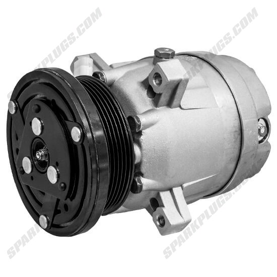 Picture of Denso 471-9139 New A/C Compressor with Clutch