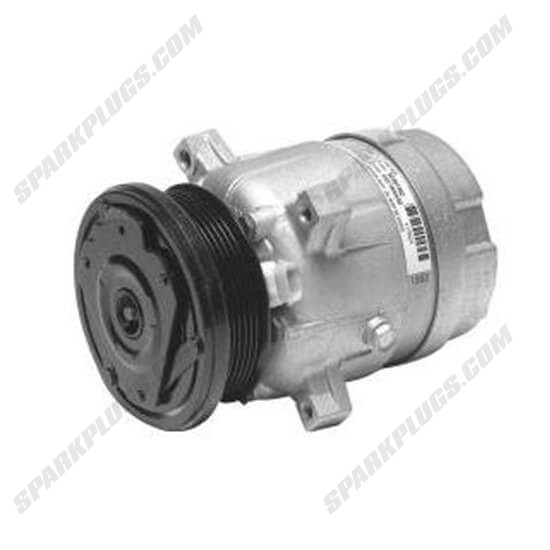 Picture of Denso 471-9141 New A/C Compressor with Clutch