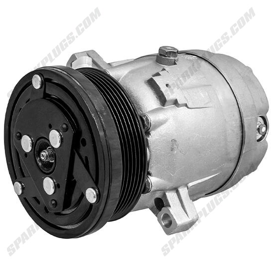 Picture of Denso 471-9143 New A/C Compressor with Clutch