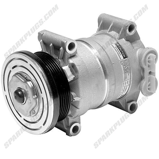 Picture of Denso 471-9167 New A/C Compressor with Clutch