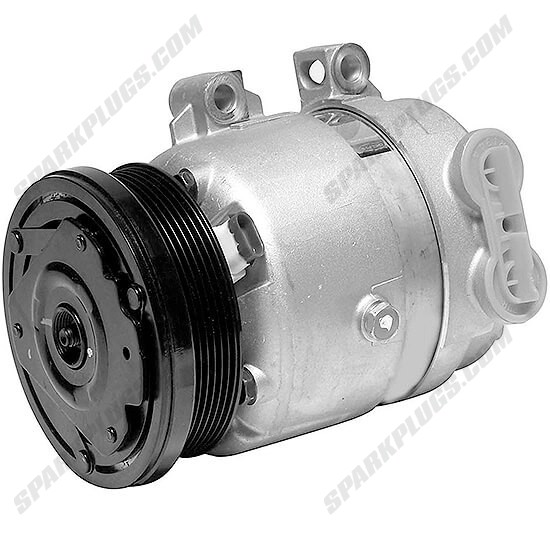 Picture of Denso 471-9176 New A/C Compressor with Clutch
