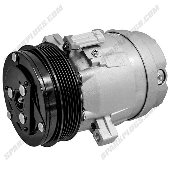 Picture of Denso 471-9184 New A/C Compressor with Clutch