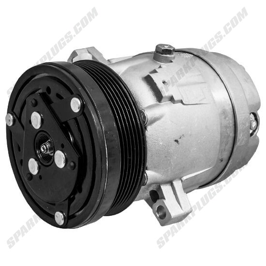 Picture of Denso 471-9185 New A/C Compressor with Clutch