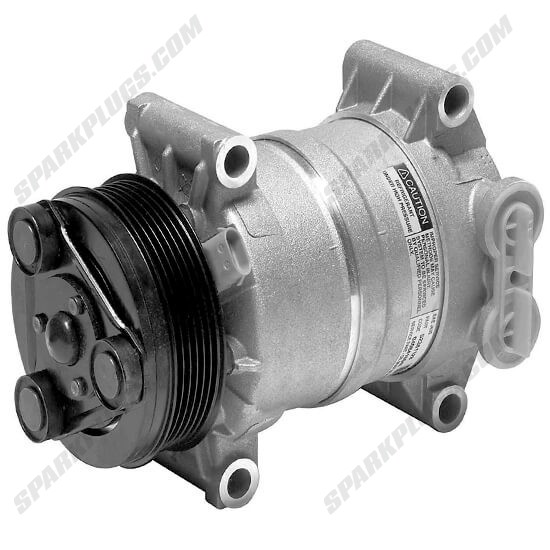 Picture of Denso 471-9187 New A/C Compressor with Clutch
