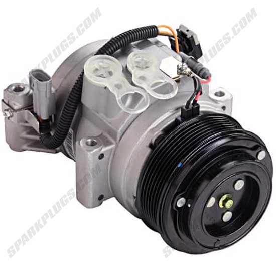 Picture of Denso 471-9196 New A/C Compressor with Clutch