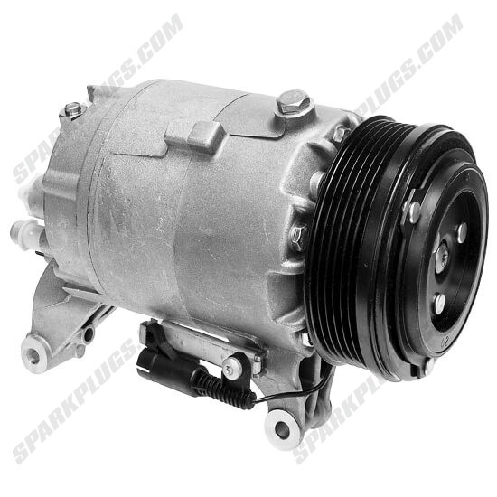 Picture of Denso 471-9197 New A/C Compressor with Clutch