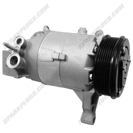 Picture of Denso 471-9203 New A/C Compressor with Clutch