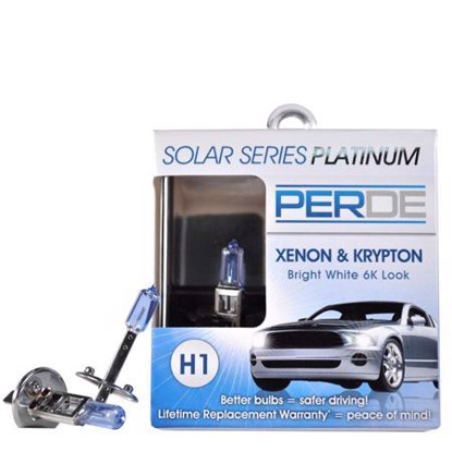 Picture of Perde H1-55-BX2 Platinum Halogen Bulb 2-Pack