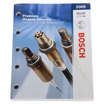 Picture of 2009 Bosch O2 Sensor Catalog