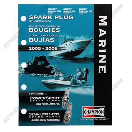 Picture of 2005 Champion Marine Spark Plug Catalog