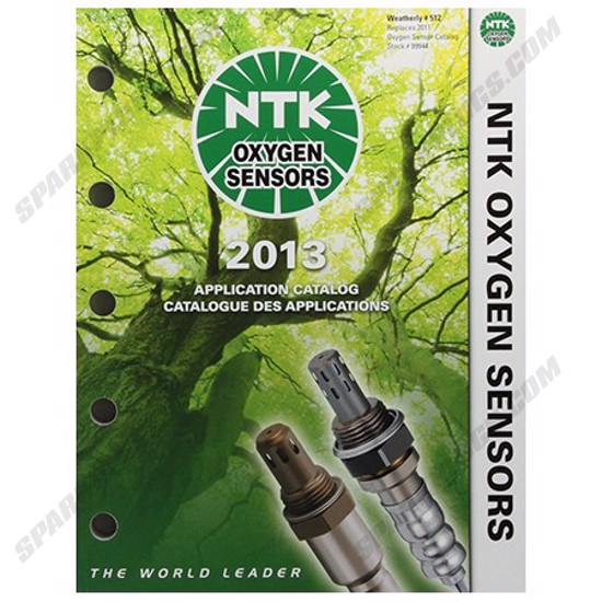Picture of 2013 NTK O2 Sensor Catalog