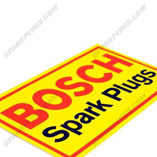 Picture of Yellow Bosch Sticker