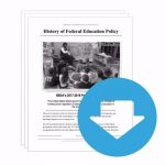 """NSDA Policy Release #01: """"History of Federal Education Policy"""" (INFO)"""