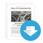 """Stoa Policy Release #01: """"History of US Transportation Policy"""" (INFO)"""