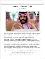 """Parli Release #26: """"Arrest in Saudi Arabia"""""""