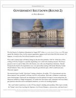 "Extemp Release #28: ""Government Shutdown (Round 2)"""